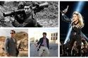 صور: نجوم يجيدون التعامل مع السلاح .. أحدهم استخدمه على المسرح