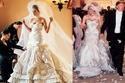 ثمن فستان زفاف ميلانيا ترامب عام 2005 بلغ 120 الف دولار