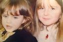 النجمة إيرام هيلفجي أوغلو مع أختها