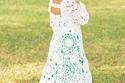 صور فتاة تستغرق 18 شهراً لحياكة فستان زفافها.. والنتيجة مذهلة