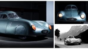 صور: قطعة نادرة أقدم سيارة بورش في العالم معروضة للبيع.. السعر خرافي