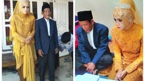 صور: فتاة جميلة تطلب الزواج من رجل أكبر منها بـ56 عامًا والسبب رومانسي