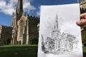 جيمس طور مهارته في الرسم خلال 5 سنوات