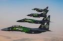 عروض عسكرية في اليوم الوطني السعودي