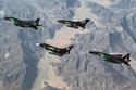 الطائرات تزينت بالأخضر احتفالا باليوم الوطني السعودي
