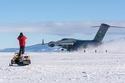 مدرج الجليد ، القارة القطبية الجنوبية