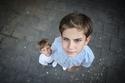الطفلان كريم ومحمد