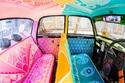 هنود يطورون التاكسي إلى مستوى خيالي من الأناقة والفن.. صور ستغريك بنزهة طويلة في شوارع نيودلهي