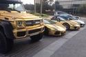السيارات المطلية بالذهب