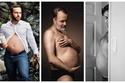 """صور مضحكة: مثل الحوامل.. رجال يحتفلون بـ """"الكرش"""" الجميل 😂"""