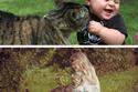 18 صورة ستقنعك بأن طفلك يحتاج قطة في أسرع وقت