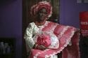 الزي التقليدي للعروس النيجيرية