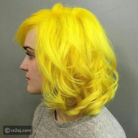 لون اصفر فاقع