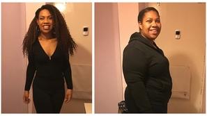 صور: لإيجاد عريس مناسب.. امرأة تخسر أكثر من نصف وزنها وتتغير بالكامل