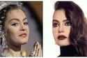 النجمة شريهان ملكة الفوازير وصورتها لم تختلف كثيراً عن شكلها الحالي