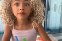 الطفلة الجميلة كايا روز