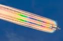 صور مذهلة: الطائرات كما لم تراها من قبل.. تصل إلى القمر وتشق الغيوم