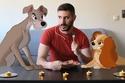 صموئيل يضيف شخصيات ديزني إلى عالمه