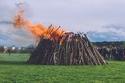شعلة عيد الفصح في  ألمانيا
