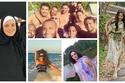 صور: بين البحر والأماكن المقدسة.. أين يقضي النجوم العرب إجازة الصيف؟