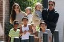 براد بيت و أنجلينا جولي - 6 أطفال