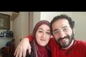 أحمد حلمي وشقيقته فاطمة