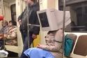 أغرب الصور التي التقطت في قطارات مترو الأنفاق