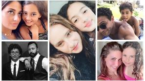 صور أبناء النجوم وشبه غير عادي بأهلهم.. رقم 21 ملكة جمال مثل والدتها