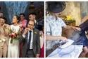 صور عفوية تعكس حقيقة حفلات الزفاف.. ما يحدث عند تقديم الطعام مضحك جدًا
