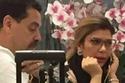 أصالة نصري مع زوجها في مطار بيروت