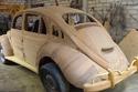 سيارة من الخشب