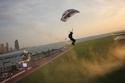 Smallest parachute - UAE