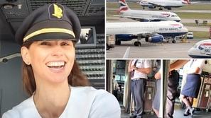 عقاب قاسي لقائدة طيران بولندية سخرت من موظفي الخطوط الجوية البريطانية