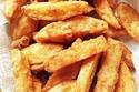 البطاطس المقلية مع التوابل