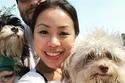 الكلب نوري من أصحابه