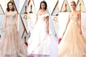 صور: ضلوا الطريق إلى الأوسكار.. نجمات ذهبن إلى الحفل بفساتين زفاف