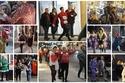 مواقف محرجة لمحتفلي الكريسماس في بريطانيا.. بعضهم تخلى عن ملابسه