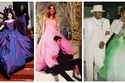 صور: بعيدًا عن الأبيض.. أغرب ألوان فساتين الزفاف التي اختارتها النجمات