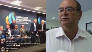 فيديو: رجل أعمال يطلق الرصاص على نفسه في بث مباشر لمؤتمر صحفي!