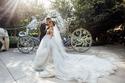 """قرر العروسان إقامة حفل زفافهما في """"ديزني لاند"""" بولاية كاليفورنيا"""