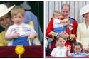 صور: أصغر أطفال كيت ميدلتون يخطف الأنظار بإطلالة عمرها أكثر من 30 عام