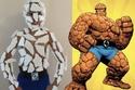 طفل لجأ إلى هذه الحيلة لتقليد شخصية من سلسلة Fantastic Four