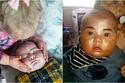 صور عمرها 3 سنوات.. طفلة تمنح شقيقتها الرضيعة مكياج كامل النتيجة مضحكة