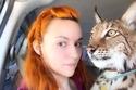 ناستاسيا بوزنياك الفتاة عاشقة الحيوانات