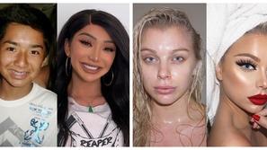 صور: قبل وبعد المكياج.. بكل جرأة فتيات ينشرن صورهن بعد التحول الرهيب