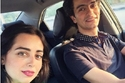 هبة مجدي وزوجها محمد محسن