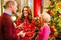 الاحتفال بعيد الكريسماس في القصر البريطاني