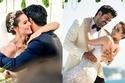 صور فهرية إفجان ترتدي 3 فساتين زفاف في حفل زواجها من بوراك أوزجيفيت