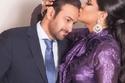 أحلام تحتفل بذكرى زواجها الـ15 من مبارك الهاجري بتقبيل رأسه