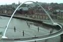 جسر الألفية المائل في لندن